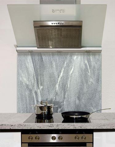 Granite Slab Glass Splashback