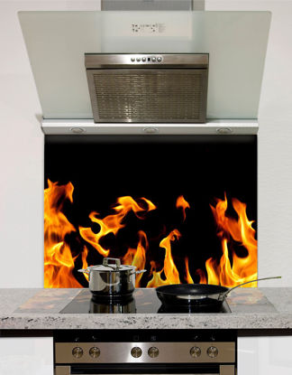Picture of Flames Splashback