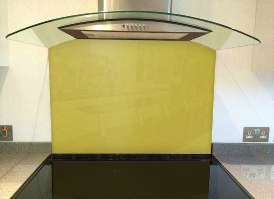 Picture of RAL Lemon yellow Splashback
