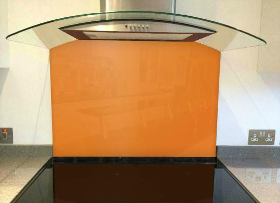 Picture of RAL Deep orange Splashback