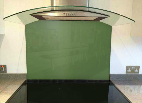 Picture of RAL Reseda green Splashback