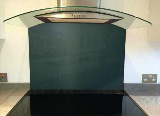 Picture of RAL 5001 Splashback