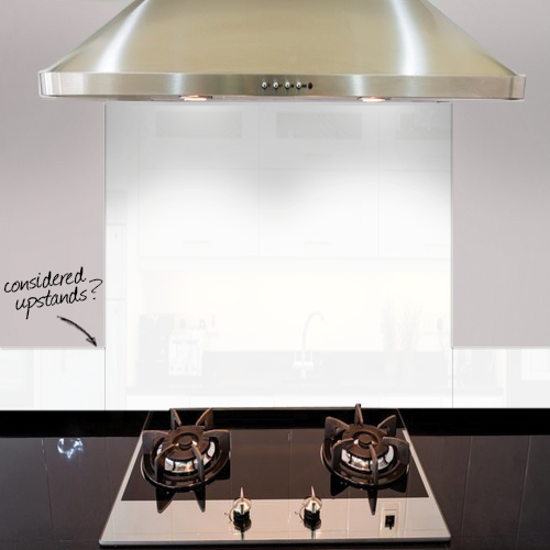 Picture of CLEAR ACRYLIC SPLASHBACK