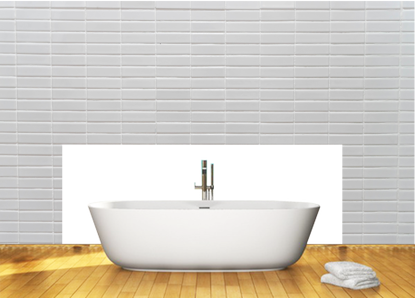 Acrylic Bathroom Splashbacks