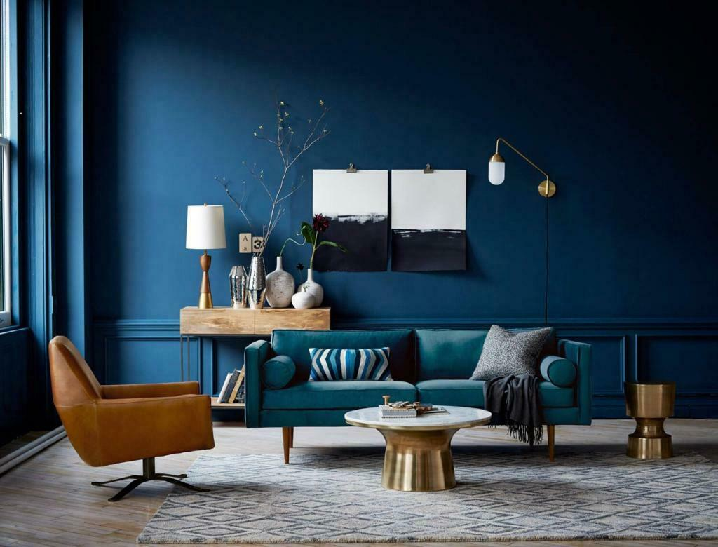 Farrow & Ball Drawing Room Blue