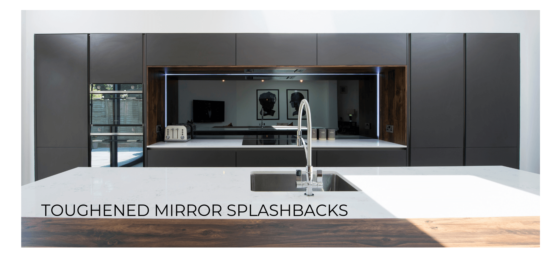 Mirror Splashbacks for Kitchens
