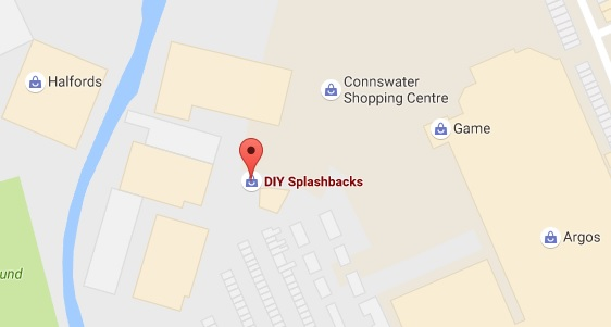 Find DIY Splashbacks on Google Maps