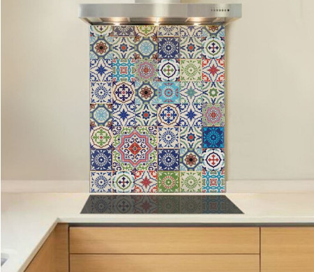 Authentic Collection glass splashbacks