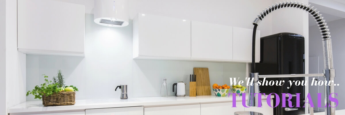 Glass Splashbacks tutorials