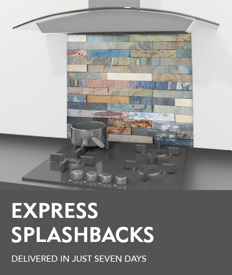 Express delivery glass splashbacks