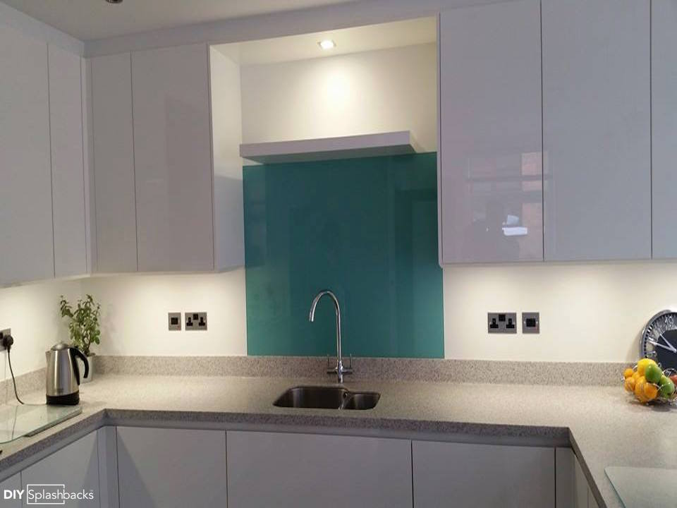 kitchen sink splashbacks green and blue glass splashbacks 2900