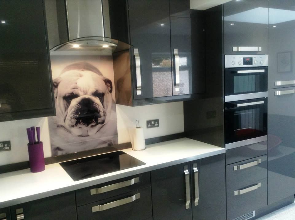 Create Your Own Glass Splashback