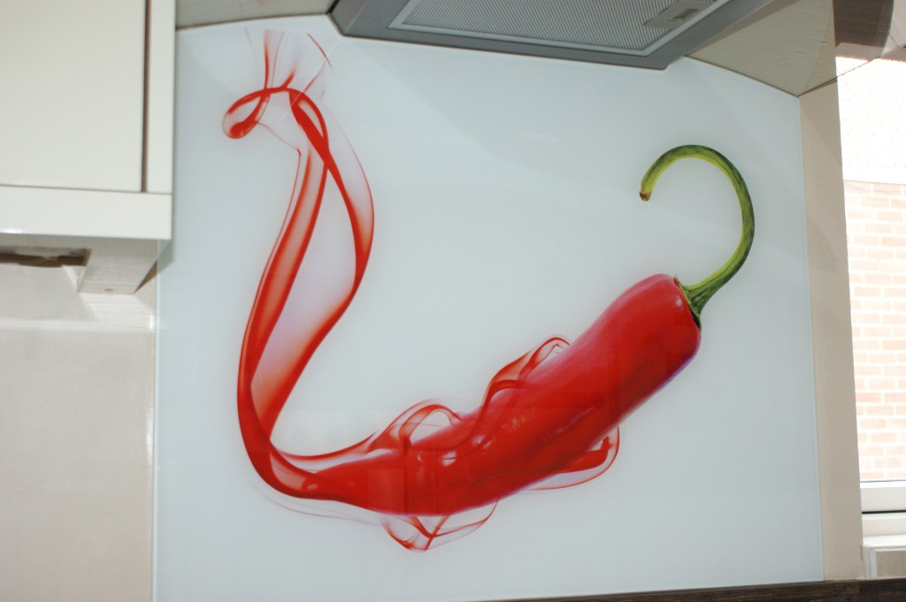 How to create a template for a shaped cooker splashback