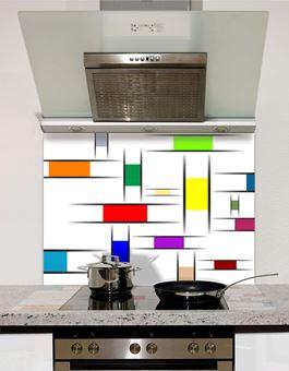 Picture of Mondrian Style Splashback