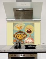 Picture of Vintage Labels Splashback
