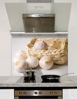 Picture of Garlic Basket Splashback