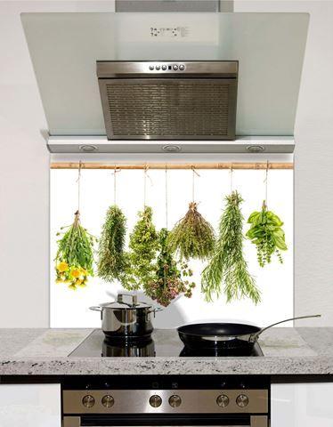 Picture of Herbs Hanging Splashback