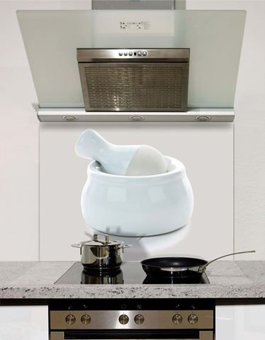 Picture of Pestle and Mortar Cool Grey Splashback