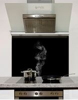 Picture of Smoke on Black Splashback