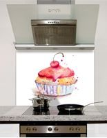 Picture of Watercolor Cake Splashback