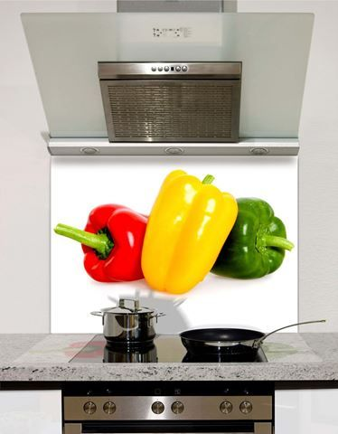 Picture of Whole peppers Splashback