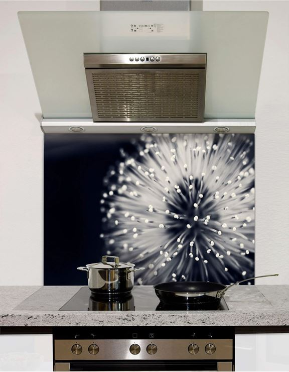 Picture of Abstract dandelion Splashback