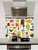 Picture of Crockery print Splashback