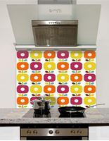 Picture of Retro posies Splashback