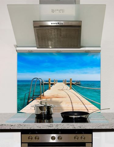 Picture of Jetty to Paradise Splashback