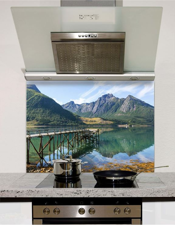 Picture of North Norway landscapes Splashback