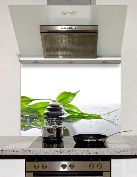 Picture of Pebbles spa piramid Splashback