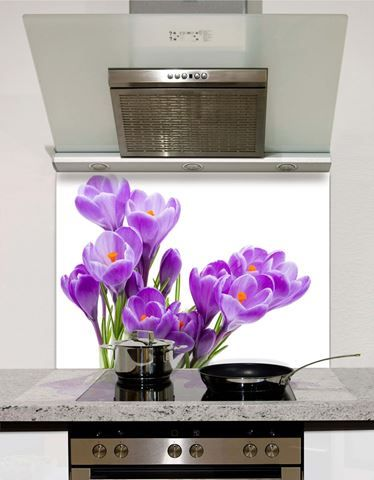 Picture of Purple Iris Splashback