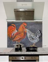 Picture of Rooster and hen Splashback