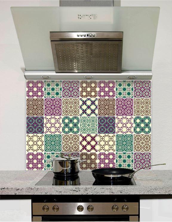 Picture of Multi Tile Splashback