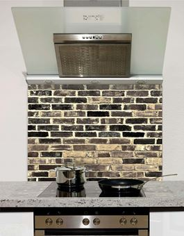 Picture of Lime brick Splashback