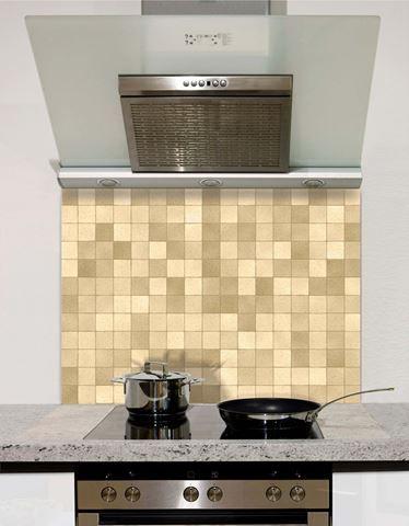 Picture of Neutral mosaic Splashback