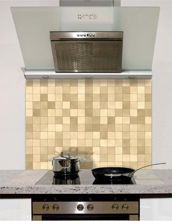 Picture of Neutral mosaic Splashback