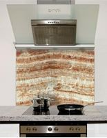 Picture of Ochre Marble Splashback