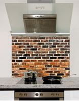 Picture of Reclaimed brick Splashback