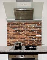 Picture of Shaded brick Splashback
