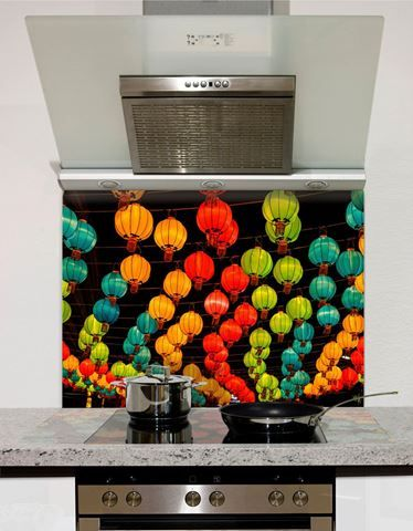 Picture of Chinese New Year in Chinatown Thailand Splashback