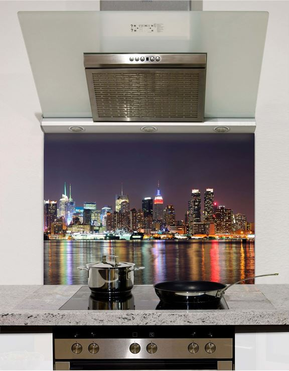 Picture of Manhattan Midtown at Night Splashback