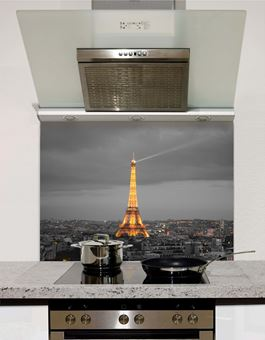 Picture of Paris At Night Splashback