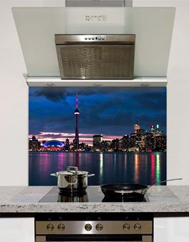 Picture of Toronto skyline Splashback