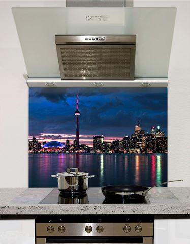 Picture of Toronto skyline Splashback