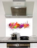 Picture of Watercolour Coventry Splashback