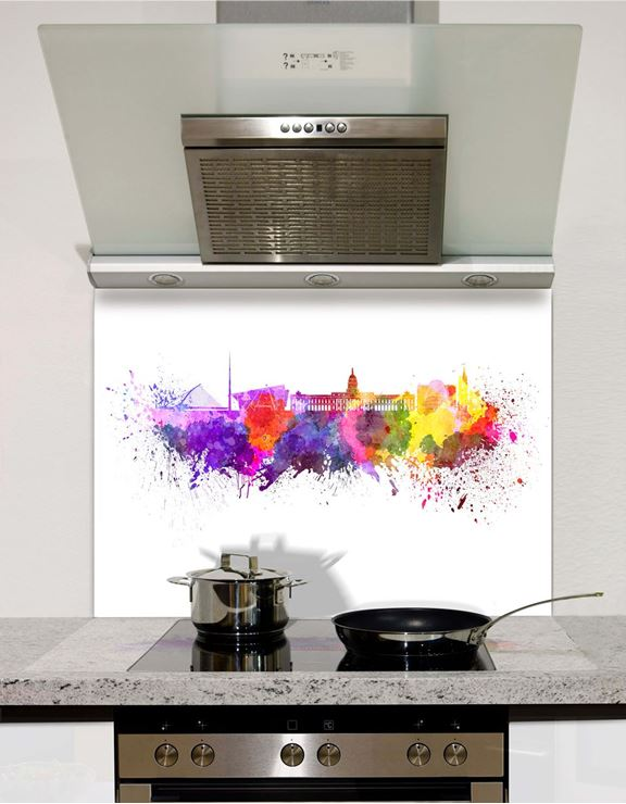 Picture of Watercolour Dublin Splashback