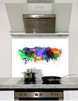 Picture of Watercolour Edinburgh Splashback