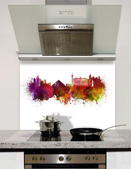 Picture of Watercolour Las Vegas Splashback