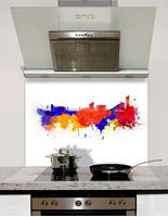 Picture of Watercolour Manchester Splashback